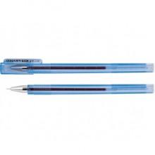 """Ручка гелевая ECONOMIX """"Piramid"""", синяя (игольчатый стержень. трехгранный корпус)"""