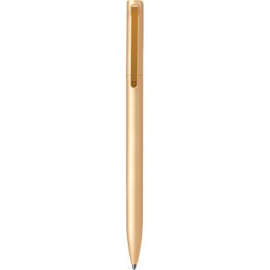 Ручка шариковая Xiaomi Mi Aluminum Rollerball Pen Gold, стержень черный