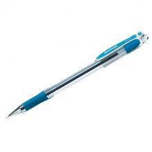 """Ручка шариковая Berlingo """"I-10"""" синяя, 0,4мм, грип"""