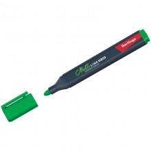 """Маркер перманентный Berlingo """"Multiline PE320"""" зеленый, пулевидный, трехгранный, 3мм"""