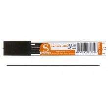 """Грифели для автоматических карандашей """"Sponsor"""", толщина грифеля 0,7 мм, твердость ТМ, 12 шт."""