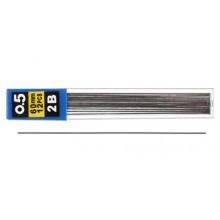Грифели для автоматических карандашей Economix, 0,5 мм,  2М,