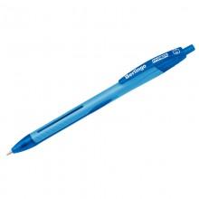 """Ручка шариковая автоматическая Berlingo """"Hyper"""" синяя, 1,0мм, прорез. корпус"""