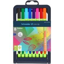 Набор ручек капиллярных Schneider Line-Up, 8 цветов