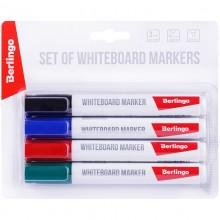 """Набор маркеров для доски Berlingo """"Uniline WB210"""" (4 цвета)"""
