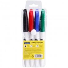 Набор маркеров для доски OfficeSpace (4 цвета)