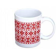 Чашка керамическая «Орнамент», 350 мл, 95×80 мм