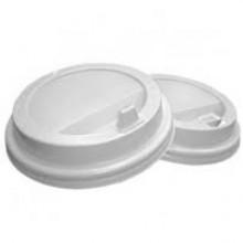 Крышка одноразовая для стаканов для горячих напитков, 100 шт, белый