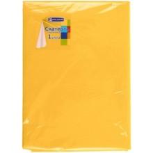 Скатерть одноразовая «Мистерия», 140×200 (+/-1 см), «Желтая коллекция»