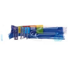 Набор вилок одноразовых «Мистерия», длина 165 мм, 12 шт., синие