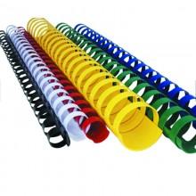 Пружина для переплета Ningbo Real Best 2061 пластиковая, диаметр 10 мм