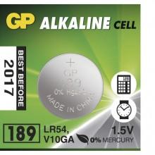 Батарейка щелочная GP 189/LR54/AG10