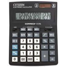 Калькулятор 14-разрядный Citizen СDB-1401, серый