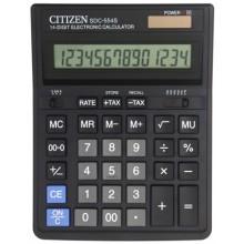 Калькулятор 14-разрядный Citizen SDC-554S, черный