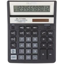 Калькулятор 12-разрядный Skainer SK-777XBК, черный