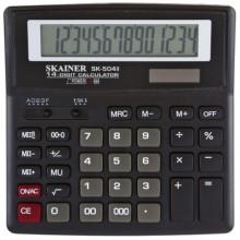Калькулятор 14-разрядный Skainer SK-504II, черный