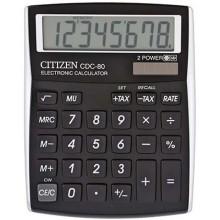Калькулятор 8-разрядный Citizen CDC-80, черный