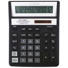 Калькулятор 12-разрядный Citizen SDC-888XBK, черный