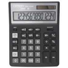 Калькулятор 14-разрядный Citizen SDC-414N, черный