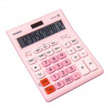 """Калькулятор настольный CASIO """"GR-12"""", 12-разрядный, розовый"""