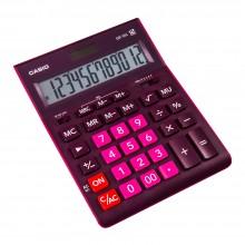 """Калькулятор настольный CASIO """"GR-12"""", 12-разрядный, бордовый"""