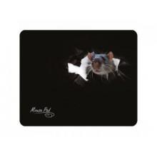 Коврик для мыши  Dialog PM-H15 mouse , 220×180 мм, чёрный c рисунком , тканевый