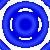 Прозрачно-синий