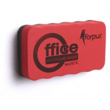 Стиратель для очистки досок Forpus магнитный, 110×55 мм, ассорти