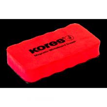 Магнитная губка-стиратель для маркерных досок Kores 110*55*20 мм