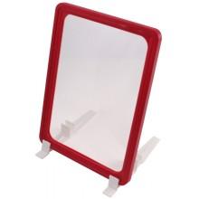 Держатель для ценников рамочный, для формата А4 (210×297 мм), красный