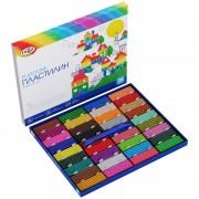 """Пластилин Гамма """"Классический"""", 36 цветов, 720г, со стеком, картон. упак.,"""