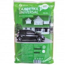 Салфетка из микрофибры  Grass Universal, 35×40 см, ассорти (цена за 10 шт.)