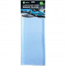 Салфетка из микрофибры для окон и стекла Magic Glass 40×50 см, ассорти (цена за 1 шт.)