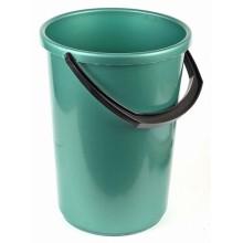 Ведро пластиковое, 12 л, зеленое