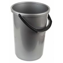 Ведро пластиковое, 12 л, серое