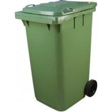 Контейнер для мусора МКТ-240, 240 л, зеленый
