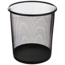 Корзина для бумаг Optima, 10 л, черная