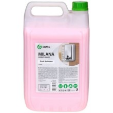 Крем-мыло жидкое Milana, 5000 мл (5 кг), увлажняющее, «Fruit bubbles»