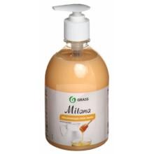 Крем-мыло жидкое Milana, 500 мл, увлажняющее, «Молоко и мед»