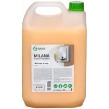 Крем-мыло жидкое Milana, 5000 мл (5 кг), «Молоко и мед»