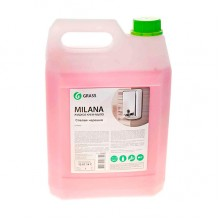 Крем-мыло жидкое Milana, 5000 мл (5 кг), увлажняющее, «Спелая черешня»