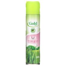Освежитель воздуха Gold Wind, 300 мл, «Green grass»