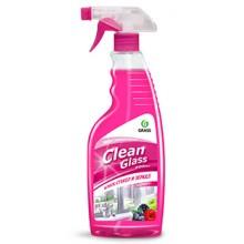 """Средство чистящее для очистки оконных стекол и зеркал """"Clean Glass"""" (лесные ягоды) 600мл, с распылителем"""