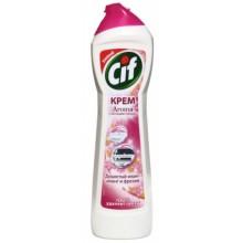 Крем чистящий Cif, 500 мл, «Розовая свежесть»