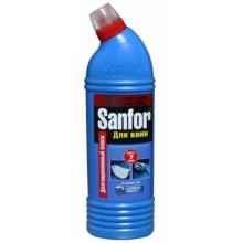 Средство для чистки Sanfor, 750 г, «Альпийская свежесть. Для ванн»