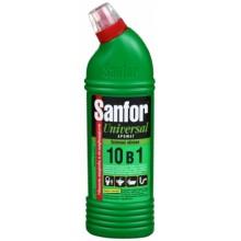 Средство для чистки Sanfor, 750 г, «Зеленое яблоко»