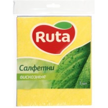 Салфетки вискозные Ruta, 3 шт.