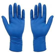 Перчатки латексные хозяйственные Flexy Gloves, размер М, синие