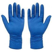 Перчатки латексные хозяйственные Flexy Gloves, размер ХL, синие