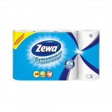 """Полотенца бумажные """"Zewa"""" (в рулоне), 4 рулона, белые"""